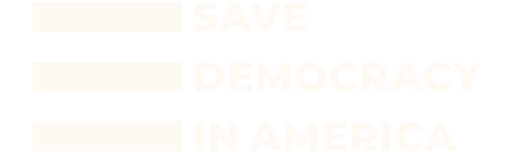 Save Democracy in America logo